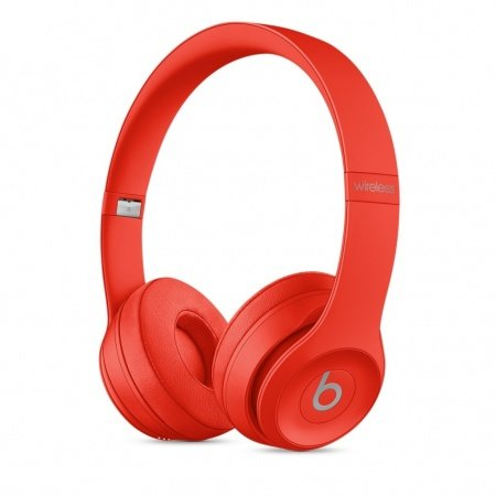 Слушалки с микрофон Beats SOLO3 WIRELESS ON-EAR - (PRODUCT) RED MP162